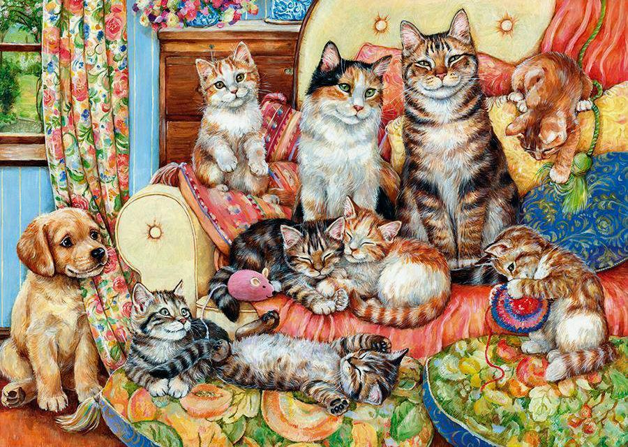 Найти рисунки с котятами