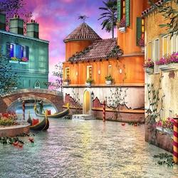 Пазл онлайн: Краски Венеции
