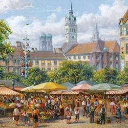 Пазл онлайн: Бавария