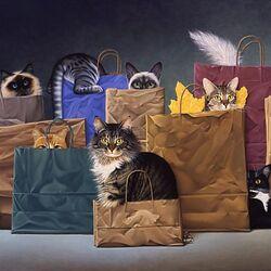 Пазл онлайн: Удачный шоппинг