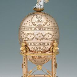 Пазл онлайн: Пасхальное яйцо.Золотой пеликан