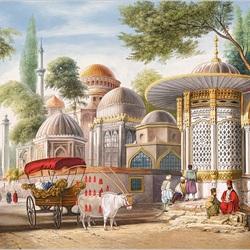 Пазл онлайн: Княжеская мечеть, Стамбул