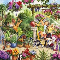 Пазл онлайн: Садоводы-любители