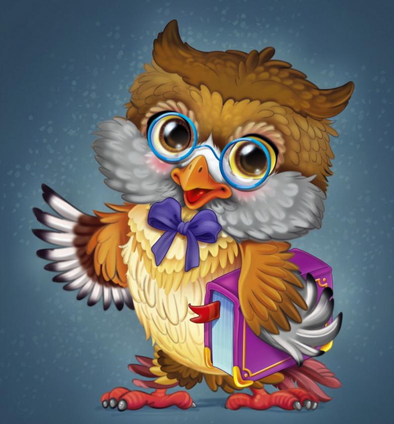 Картинки для праздника учителей сова