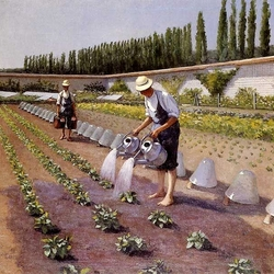 Пазл онлайн: Садовники