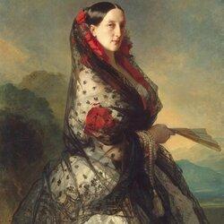 Пазл онлайн: Портрет великой княгини Марии Николаевны