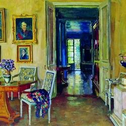 Пазл онлайн: Комната в имении Брасово