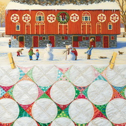Пазл онлайн: Снежки