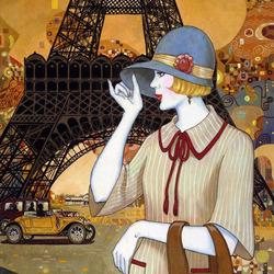 Пазл онлайн: Парижские приключения
