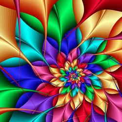 Пазл онлайн: Цветок