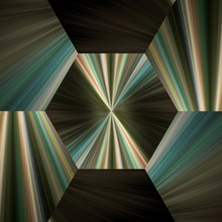 Пазл онлайн: Шестиугольники