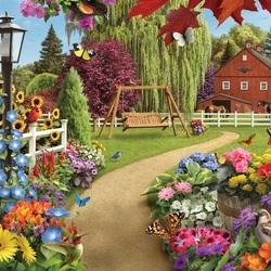 Пазл онлайн: Цветы солнца