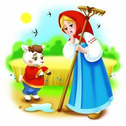 Пазл онлайн: Сестрица Аленушка и братец Иванушка