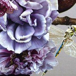 Пазл онлайн: Голубые цветы Австралии