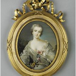 Пазл онлайн: Портрет мадам де ла Порте