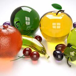 Пазл онлайн: Ягодно-фруктовый