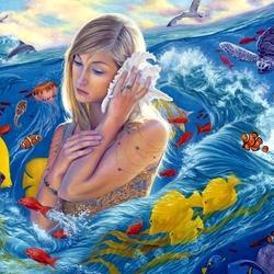 Пазл онлайн: Жизнь моря