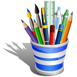 Пазл онлайн: Пишущие принадлежности