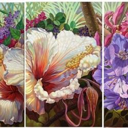 Пазл онлайн: Сказочные цветы