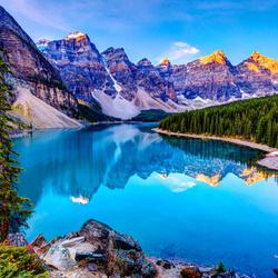 Пазл онлайн: В горах Канады
