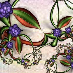 Пазл онлайн: Виноградная лоза