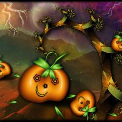 Пазл онлайн: Хеллоуин