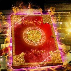 Пазл онлайн: Магическая книга
