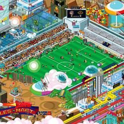 Пазл онлайн: Галактический футбол