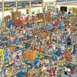 Пазл онлайн: Flea Market/Блошиный рынок