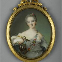 Пазл онлайн: Портрет Генриетты Орлеанской