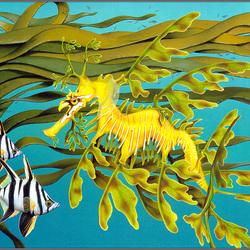 Пазл онлайн: Подплывайте ближе, полосатики