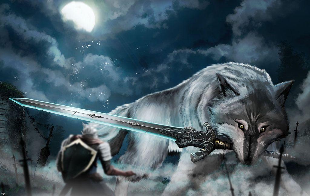 картинка волк с мечом сизаль