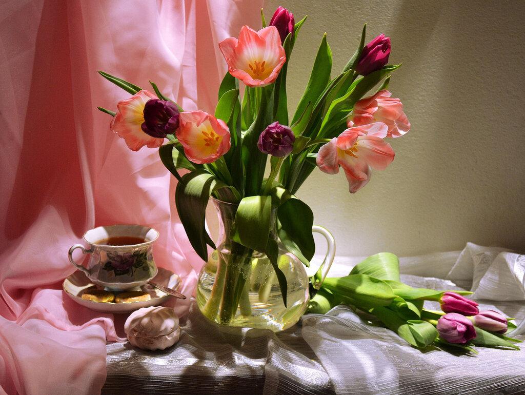 научных фото доброе утро с тюльпанами мулдашев профессиональный