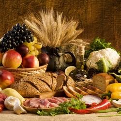 Пазл онлайн: Вкусная и здоровая пища