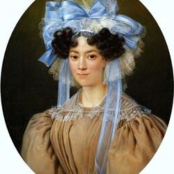 Пазл онлайн: Портрет леди
