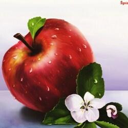 Пазл онлайн: Яблоко