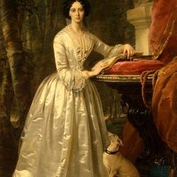 Пазл онлайн: Портрет Великой Княгини Марии Александровны