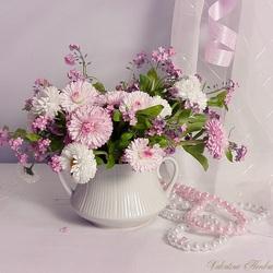 Пазл онлайн: Нежно-Розовое Утро