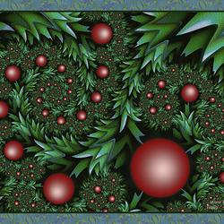 Пазл онлайн: Рождественский остролист