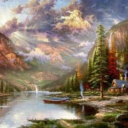 Пазл онлайн: Mountain Majesty/Величие гор