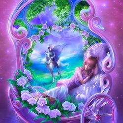 Пазл онлайн: Мечты о принце