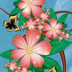Пазл онлайн: Особенности цветения персика