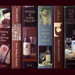 Пазл онлайн: Книги о вине