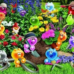 Пазл онлайн: Садоводы