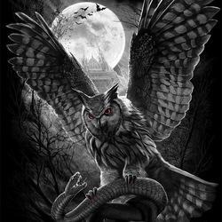 Пазл онлайн: Ночной охотник