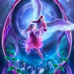 Пазл онлайн: Танец ангелов