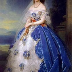 Пазл онлайн: Великая княгиня Ольга Николаевна. Королева Вюртембергская