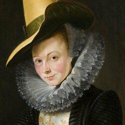 Пазл онлайн: Портрет Изабеллы Брант