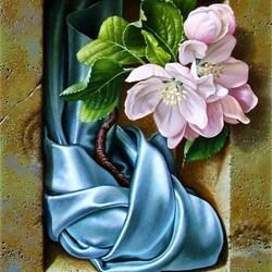 Пазл онлайн: Цветочный триптих