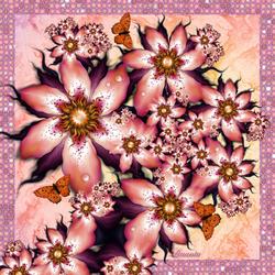 Пазл онлайн: Розовая мечта